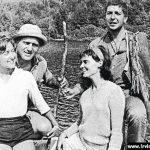 Aviva, Irving, Anne Sherman, Leonard Cohen in 1957