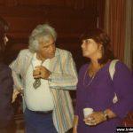 Irving with Harriet Bernstein
