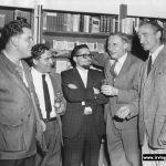 Henry Mascovitch, Irving, Robert Silverman, F. R. Scott, Louis Dudek