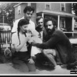 Audrey Aikman, Irving, John Sutherland, Bill Goodwin in 1946