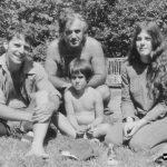 Max, Irving, David, Naomi in 1970
