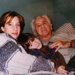 Irving with his Grand-daughter and Great-grandson 1995
